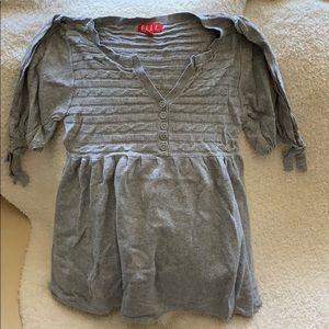 Elle Grey Sweater Top